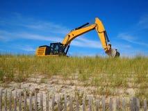 Buldożer W piasek diunie Fotografia Royalty Free