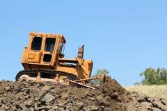 buldożeru budowy droga Zdjęcie Royalty Free