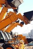 buldożery obraz stock