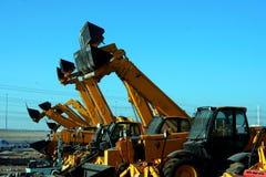 buldożery zdjęcia stock