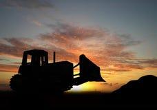buldożer Fotografia Royalty Free