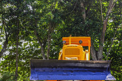 Buldozer in Cuba Royalty Free Stock Photo