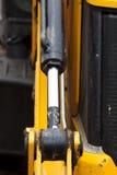Buldozer hidraulics Royalty Free Stock Image