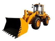 Buldozer jaune images libres de droits