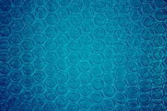 Bule Bubble. Abstract blue circular Bubble background Stock Photo