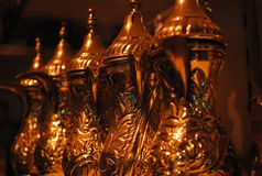 Bule de cobre Fotos de Stock