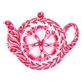 Bule decorativo do ornamento Imagem de Stock Royalty Free