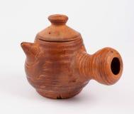 Bule do produto de cerâmica fotografia de stock royalty free
