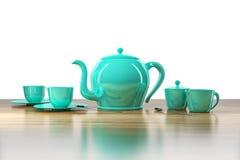 Bule e xícara de chá Fotos de Stock