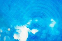 Bule färgbokeh Royaltyfria Bilder