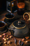 Bule oriental tradicional do ferro Imagem de Stock