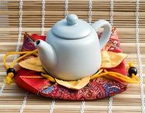 Bule para a cerimónia de chá Fotos de Stock Royalty Free