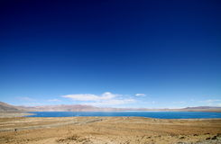 Bule sky and lake Stock Images