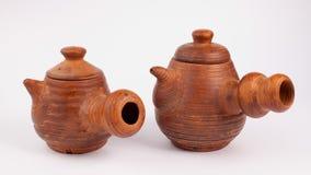 Bules do produto de cerâmica Imagens de Stock Royalty Free
