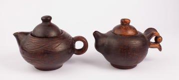Bules do produto de cerâmica Fotografia de Stock Royalty Free