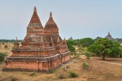 Bulethi-Pagode am Morgen in Bagan, Myanmar Lizenzfreie Stockbilder