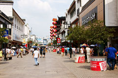 Bulevar в Сучжоу стоковое изображение