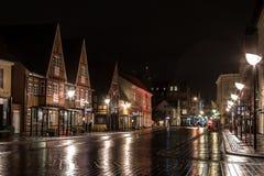 Bulevar de Aalborg Imagen de archivo libre de regalías