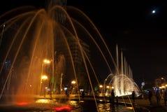 Bulevar de Batumi en parque de playa foto de archivo libre de regalías