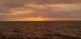 Bulevar de la puesta del sol imagen de archivo libre de regalías