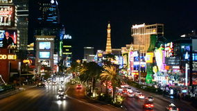 Bulevar de la tira de Las Vegas, Nevada, los E.E.U.U.
