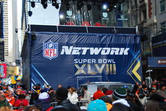 Bulevar del Super Bowl - New York City Foto de archivo