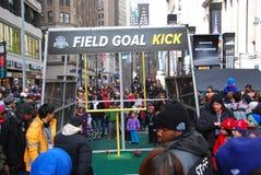 Bulevar del Super Bowl - New York City Imagen de archivo
