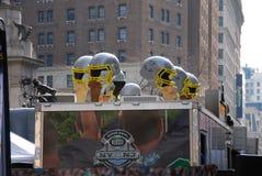 Bulevar del Super Bowl - New York City Imagen de archivo libre de regalías