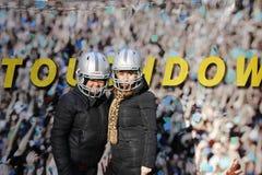 Bulevar do Super Bowl Fotos de Stock Royalty Free