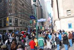 Bulevar do Super Bowl - New York City Imagem de Stock
