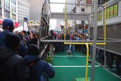 Bulevar do Super Bowl - New York City Foto de Stock