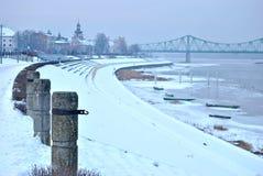 Bulevar en Polonia Foto de archivo