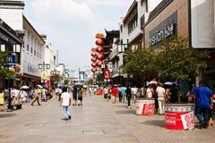 Bulevar en Suzhou imagen de archivo