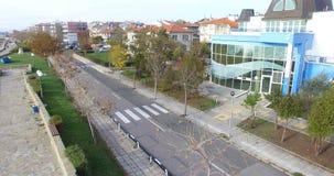 Bulevar Yavorov y Pomorie viejo, Bulgaria almacen de metraje de vídeo