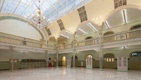 bulfinch kampus Charles projektował sala Harvard punkt zwrotny lokalizować krajowego uniwersyteta Zdjęcie Royalty Free