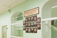 bulfinchuniversitetsområdet charles planlade korridorharvard landmarken lokaliserade nationella universitetar Royaltyfri Bild
