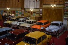 bulgária Carros retros velhos Foto de Stock