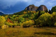 Bulgária, lagos Smolyan Fotos de Stock