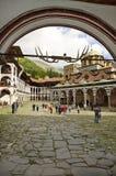 Bulgária, monastério de Rila Fotografia de Stock Royalty Free