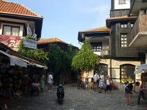 Bulgária, Nesebar - cidade velha imagens de stock royalty free