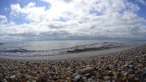 bulg?ria Praia dourada das areias descanso fotografia de stock