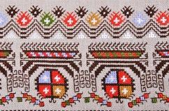Bulgaars handborduurwerk royalty-vrije stock afbeeldingen