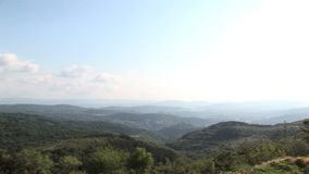Bulgaars landschap stock video