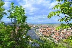 Bulgaars plattelandslandschap royalty-vrije stock foto's