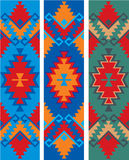 Bulgaarse etnische ornamenten stock illustratie