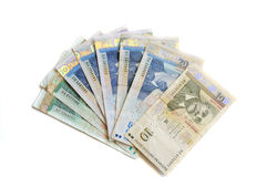 Bulgaarse geldbankbiljetten Royalty-vrije Stock Foto's