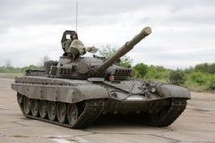 Bulgaarse legergevechtstank stock foto's