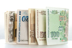 Bulgaarse lev Royalty-vrije Stock Foto's