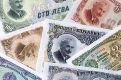 Bulgaarse lev, een achtergrond Stock Fotografie