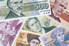 Bulgaarse lev, een achtergrond Royalty-vrije Stock Foto's